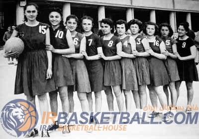 تاریخچه بسکتبال ایران