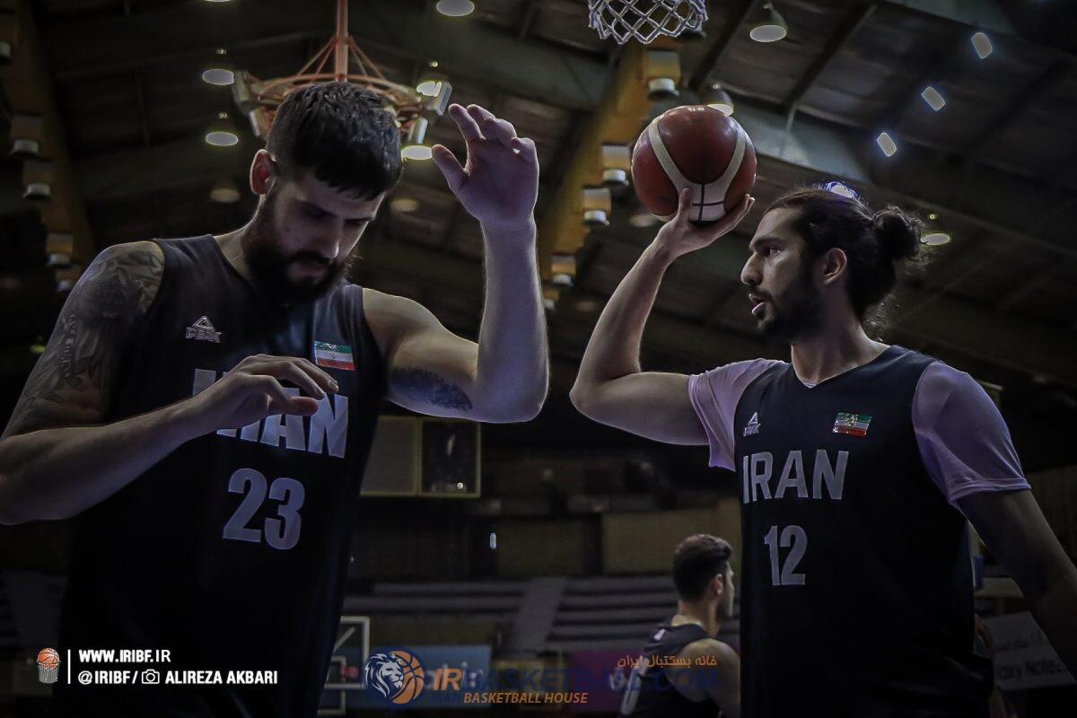 بسکتبال ایران در تدارک کاپ آسیا