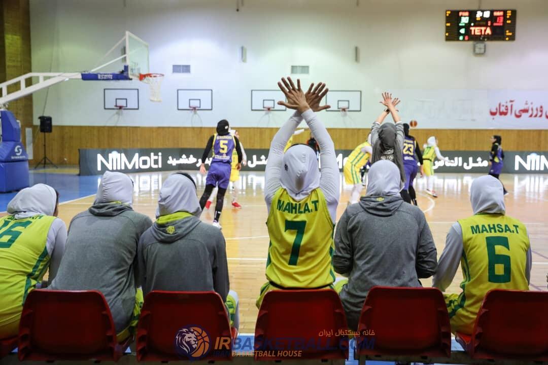 بسکتبال دختران ایران