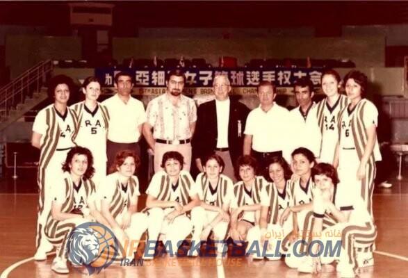 بانو پری نقیپور از ملیپوشان دهۀ 50 بسکتبال ایران، درگذشت