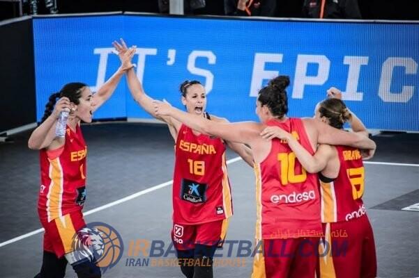 بسکتبال سه نفره زنان اسپانیا / گیمنو : تمرکزمان روی بازی خودمان است