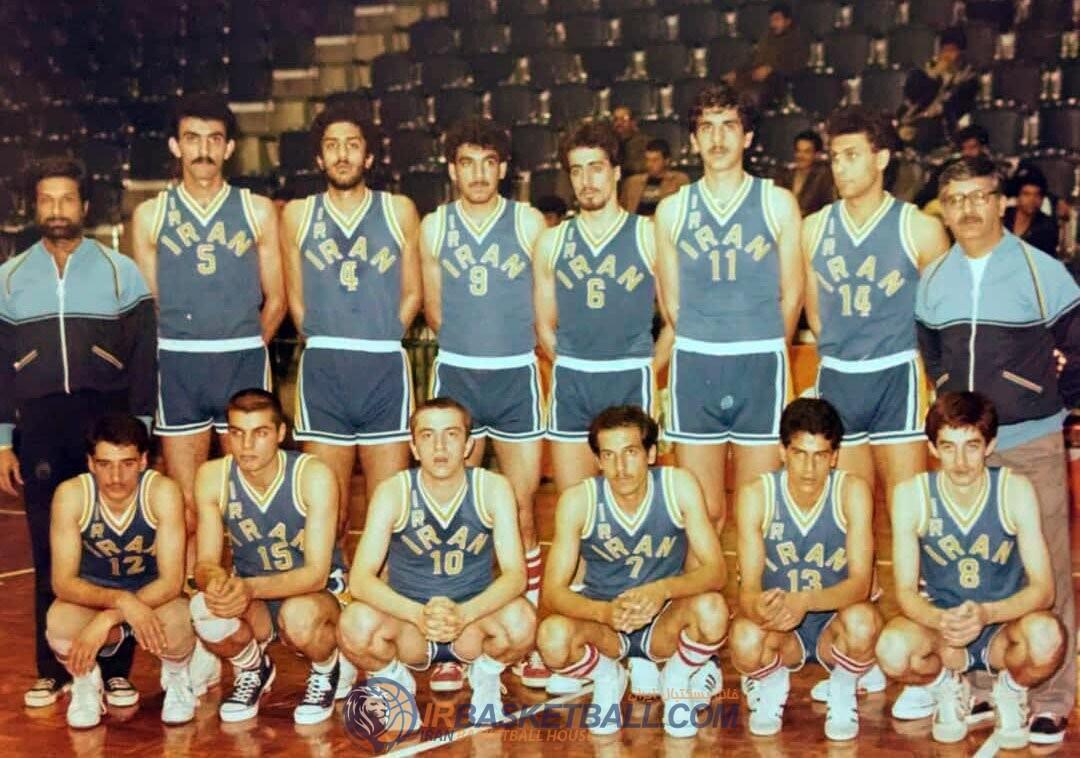 برنامه شماره 23 رادیو بسکتبال ایران - تیم ملی