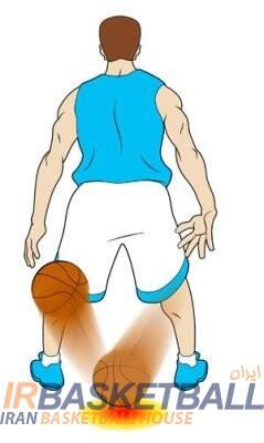 انواع دریبل های بسکتبال