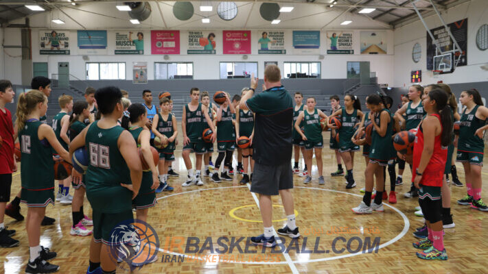 تالار مربی بسکتبال